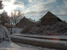 Zima v naší obci